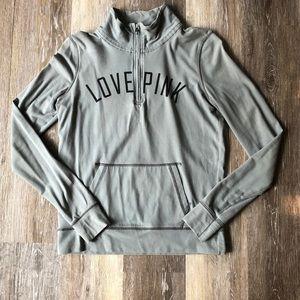 PINK 1/4 Zip Sweater